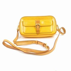 Louis Vuitton Yellow Monogram Vernis Christie MM